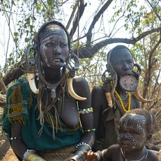 Mursi Village, Mago National Park