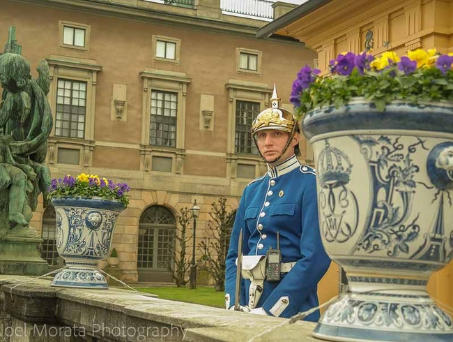 A visit to the Royal Palace in Stockholm