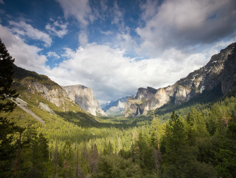 Spring Vista Yosemite National Park California United States