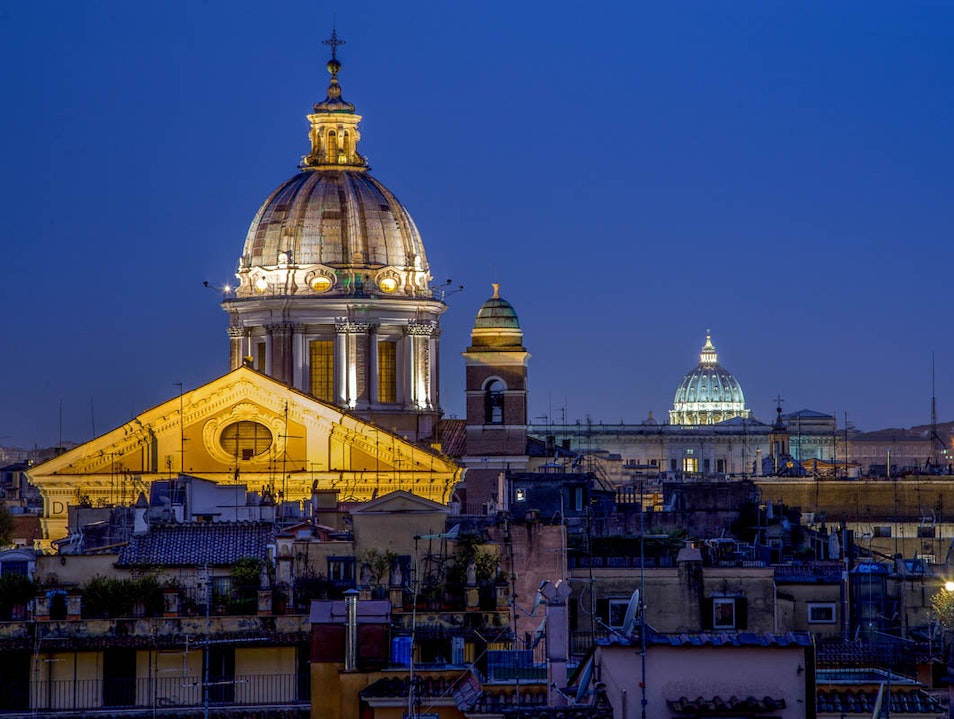 Inn at the Spanish Steps Rome  Italy