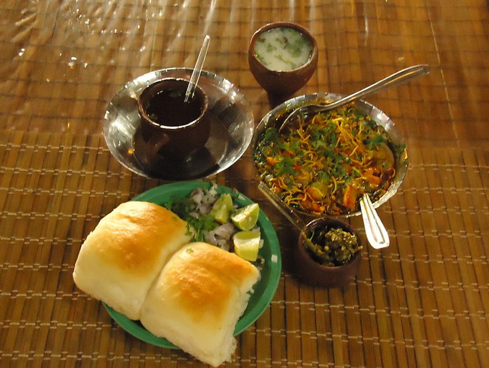 Try Misal Pav Curry  Pune  India