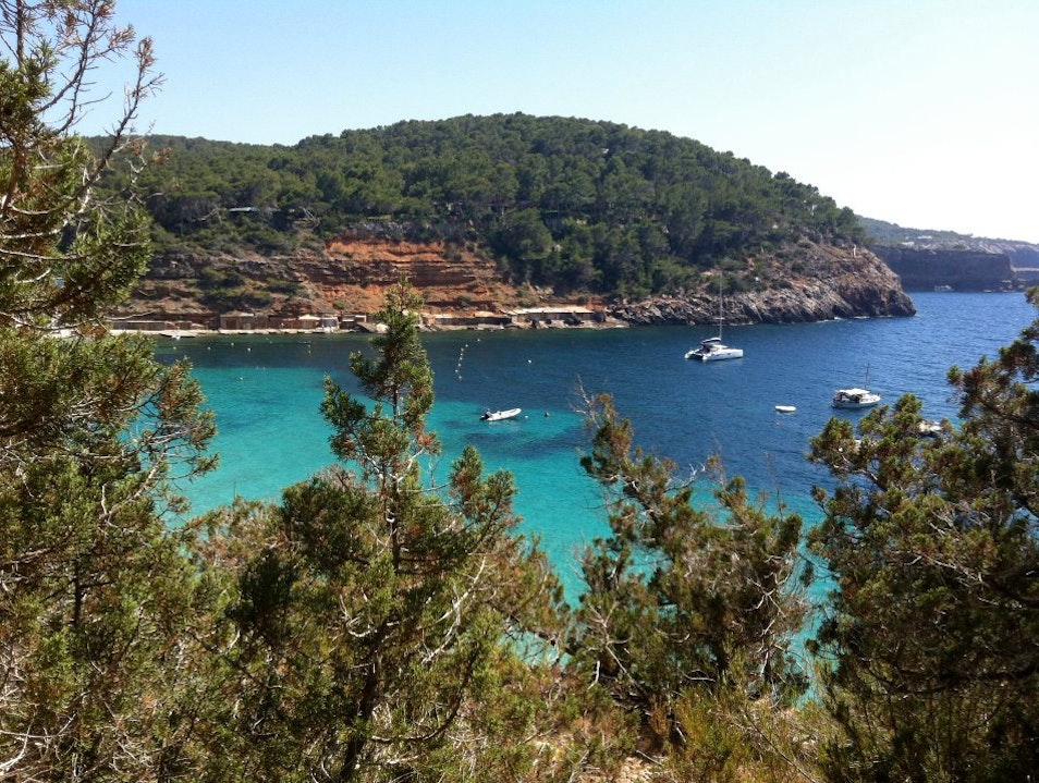 A Swim at Cala Salada Sant Antoni De Portmany  Spain