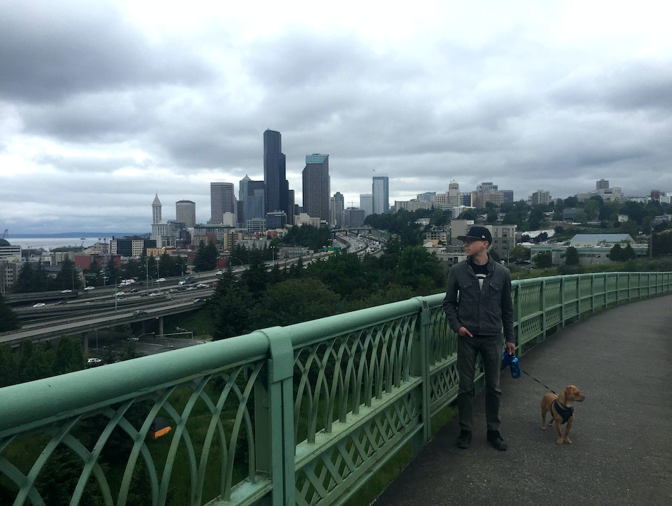 Jose Rizal Bridge  Seattle Washington United States