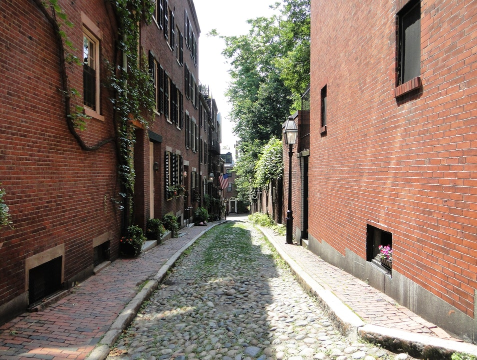 "Boston's ""Most Photographed Street"""
