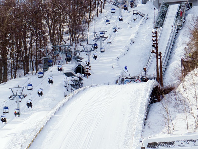 Ski Jumping, Anyone?