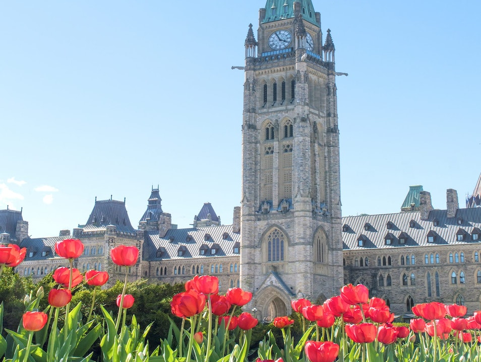Visiting The Canadian Tulip Festival