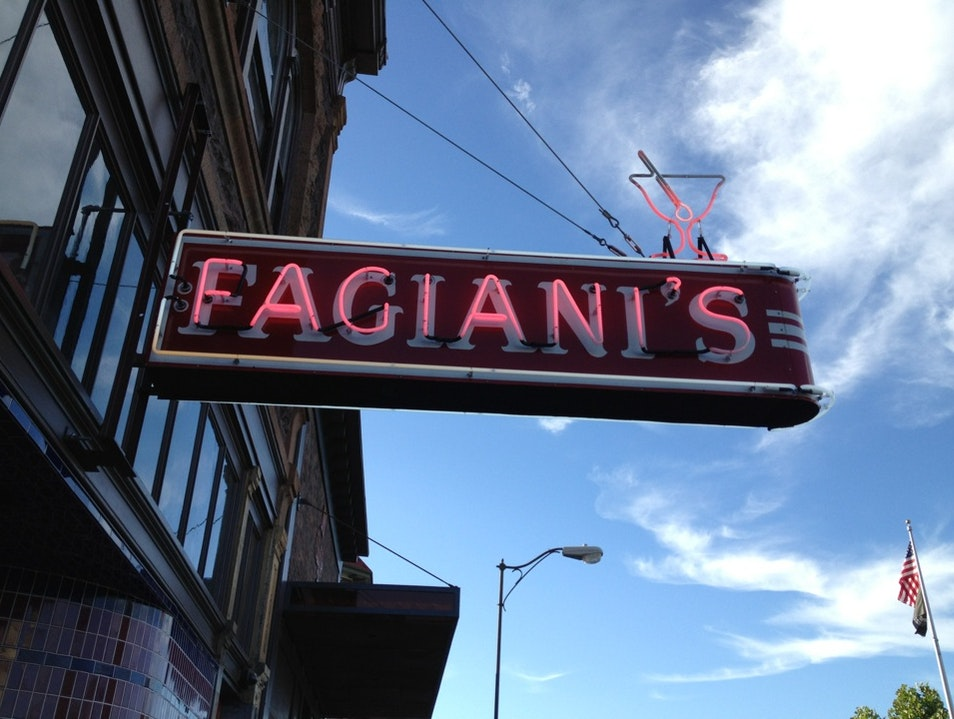 Lat Night at Fagiani's Napa California United States
