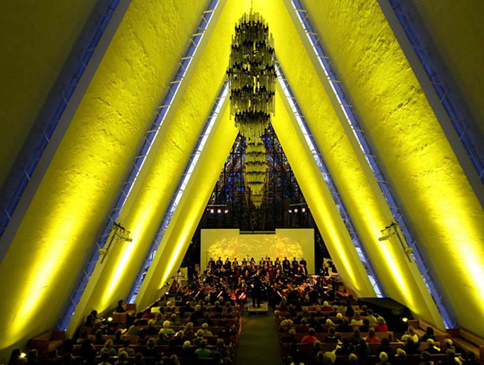 Arctic Cathedral Tromso  Norway