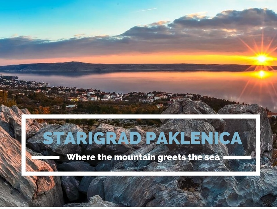 Where the mountain greet the sea Starigrad  Croatia