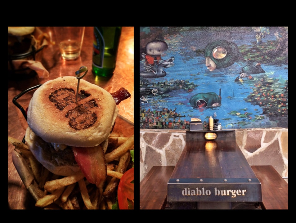 Diablo Burger in Flagstaff: say 'no' to mushy buns, 'yes' to local flavor  Arizona United States