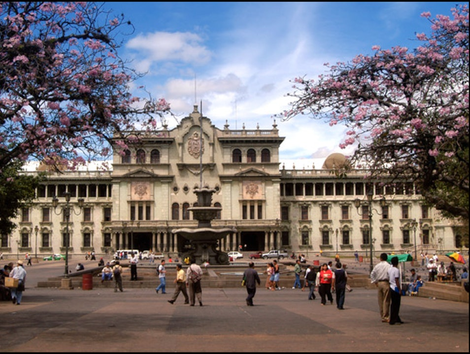 All Roads Lead From the Palacio Nacional Guatemala City  Guatemala