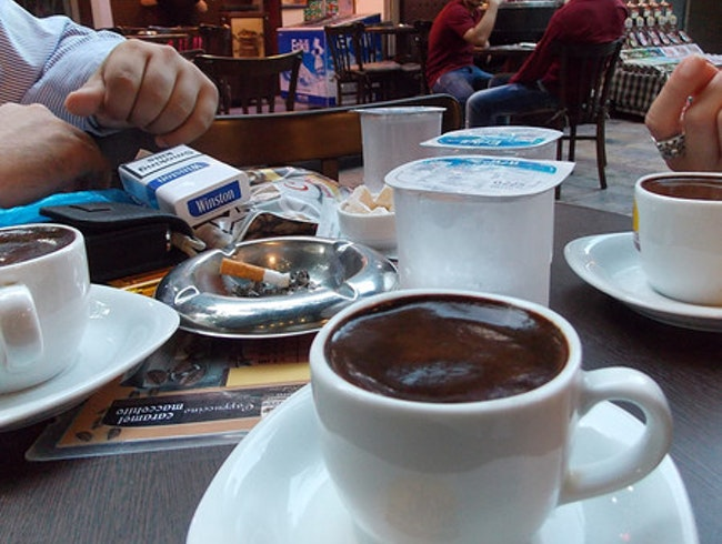 The BEST Turkish coffee in Izmir