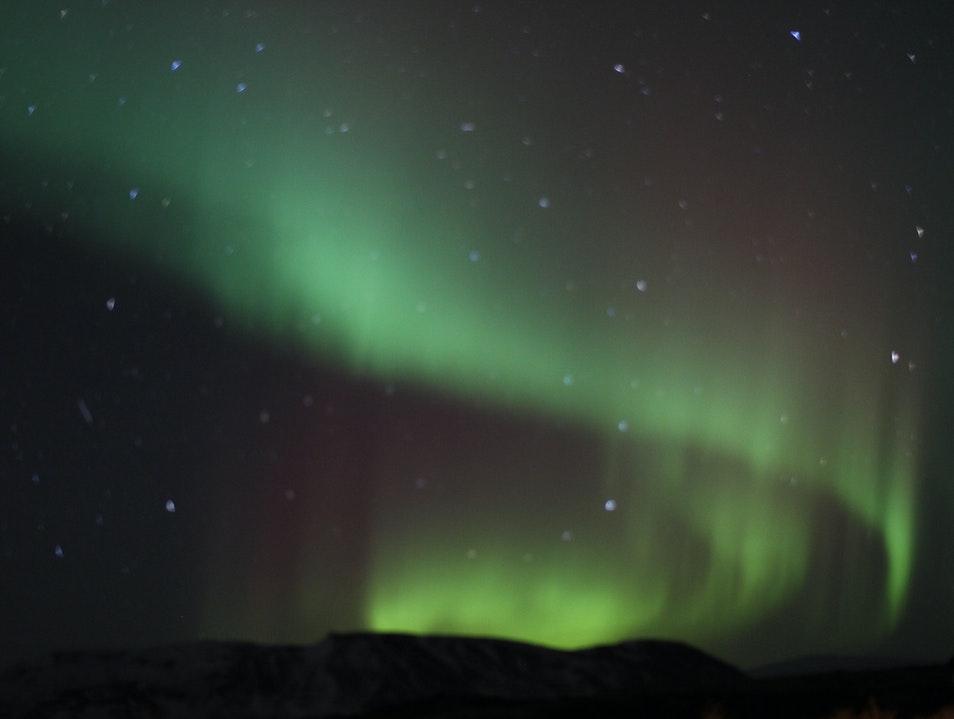 Third Time's a Charm: the Northern Lights Kopavogur  Iceland