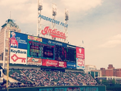 Progressive Field Cleveland Ohio United States