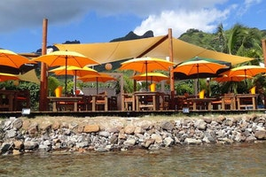 Moorea Beach Café by Bruno Jamais
