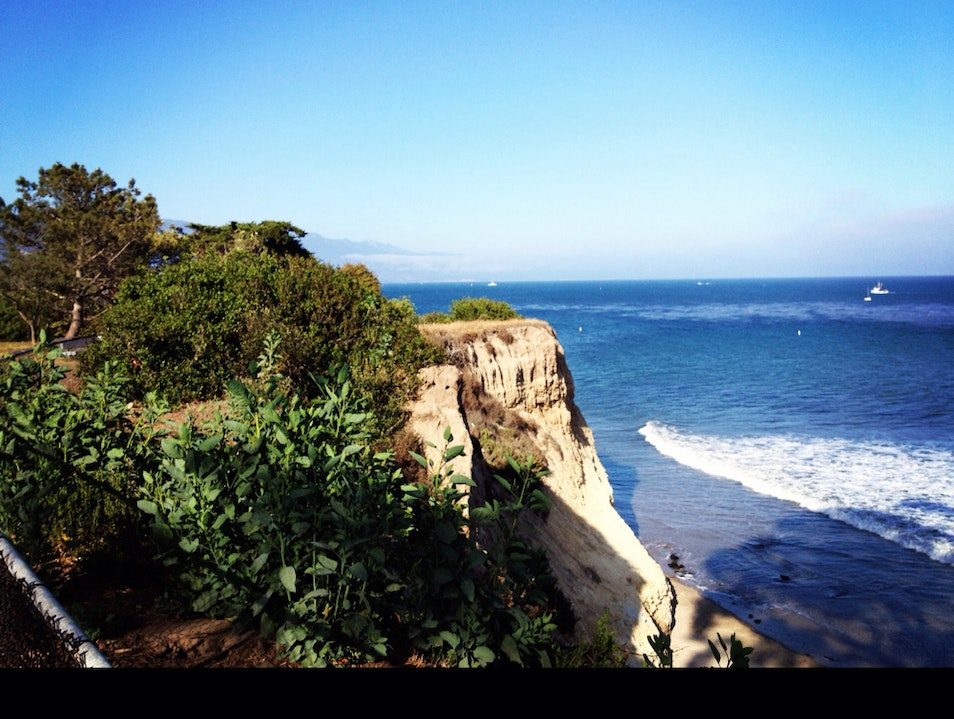 Cliffs Santa Barbara California United States