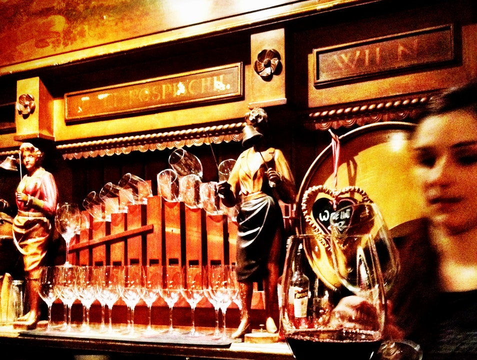 A Wine Bar with an Organ