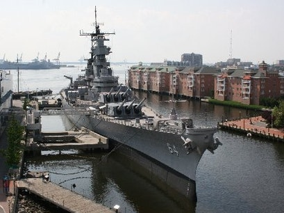 Norfolk Harbor Norfolk Virginia United States