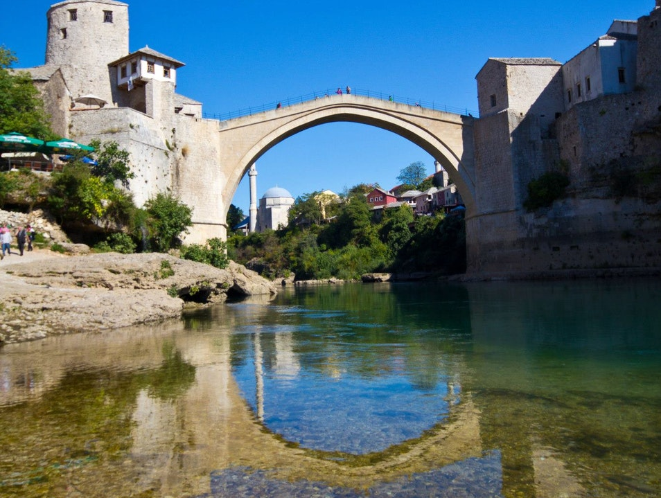 A Bridge over Troubled Waters Mostar  Bosnia and Herzegovina
