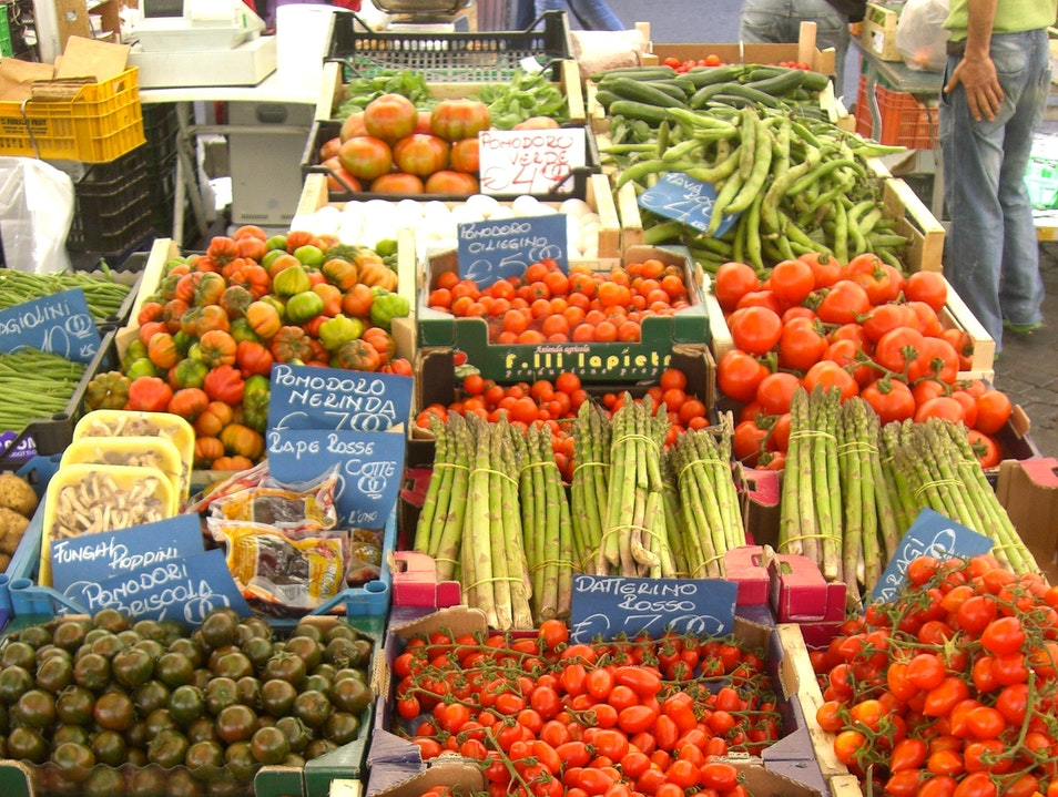 'To Market, to Market,' at Campo de Fiori
