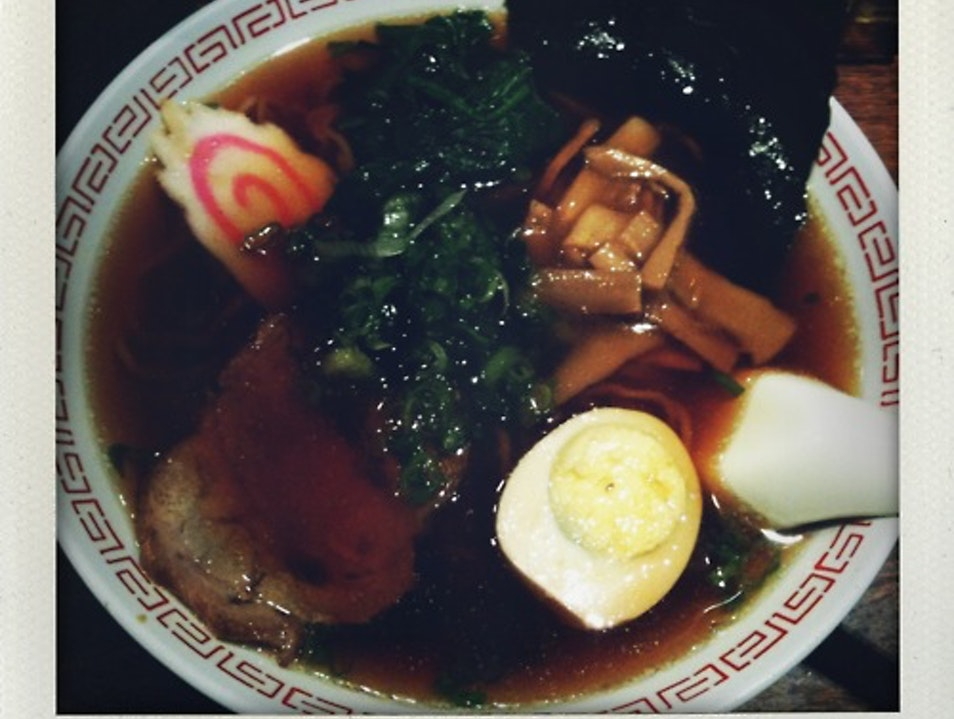 Ramen at Rai Rai Ken New York New York United States