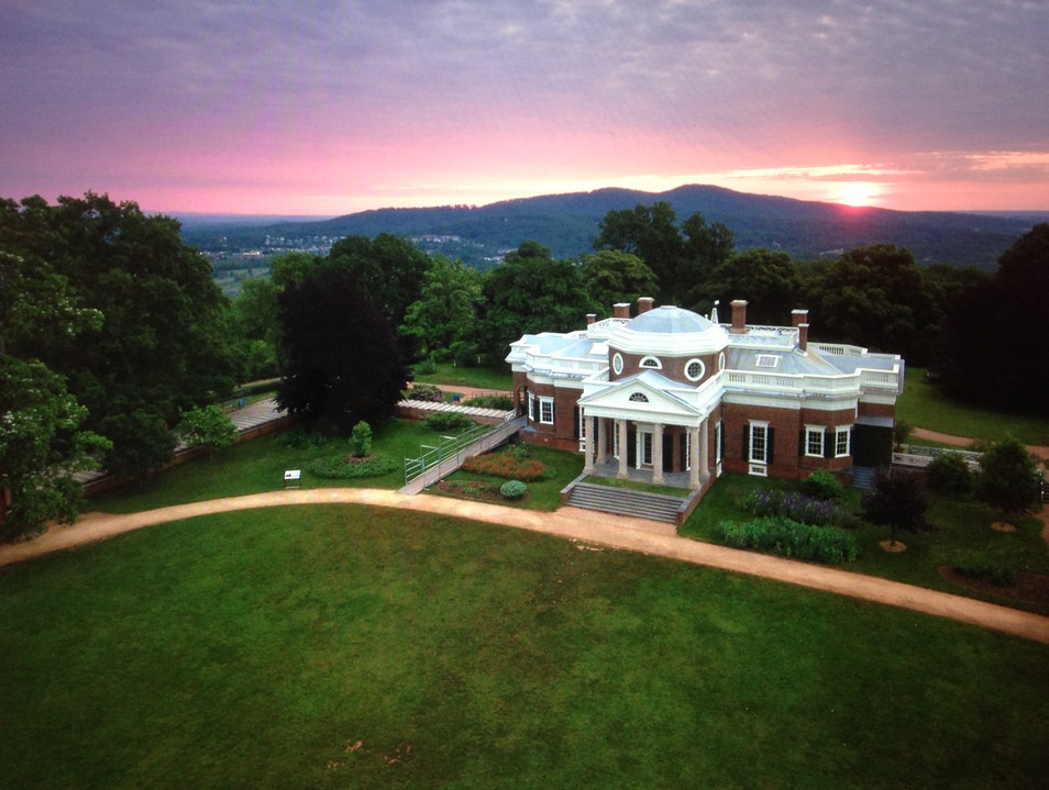 Jefferson's Fascinating Home Charlottesville Virginia United States