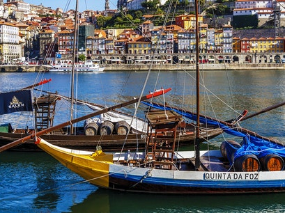 Port Wine Houses Vila Nova De Gaia  Portugal