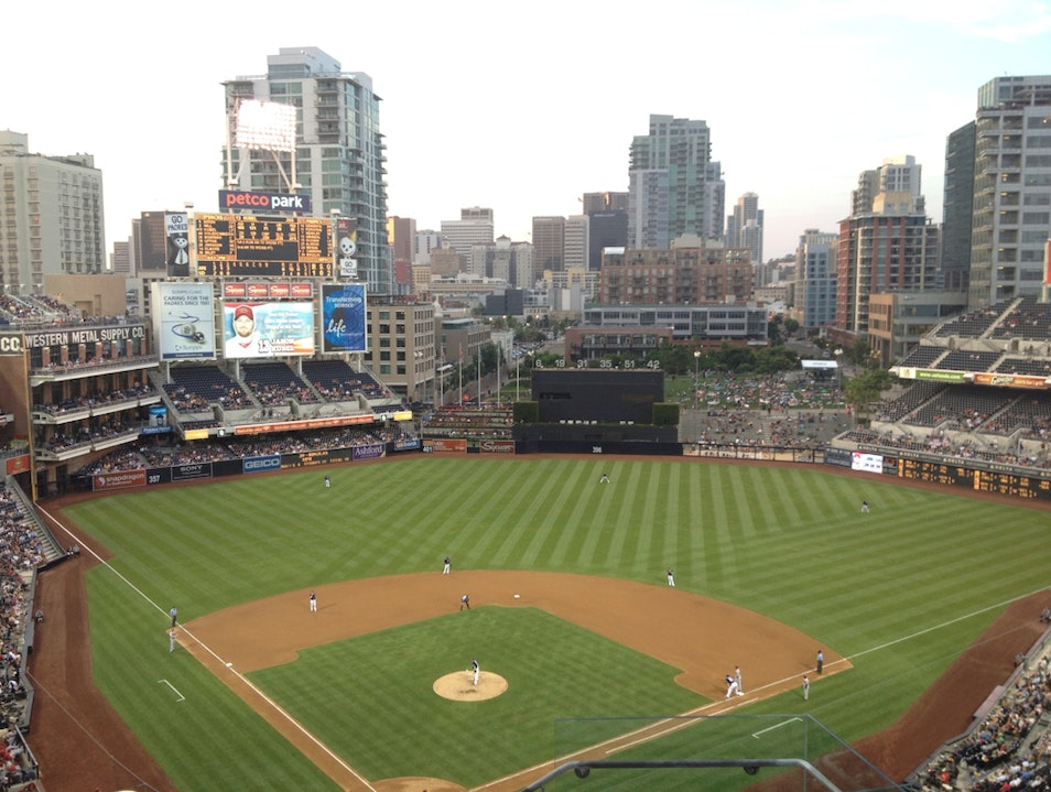 Padres Game in San Diego