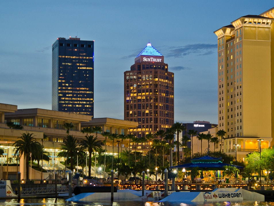Enjoy a Drink with a 360-degree View Tampa Florida United States