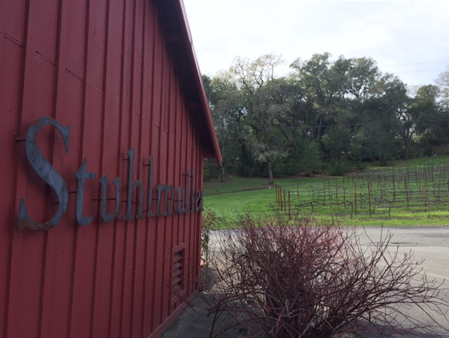 Stuhlmuller Winery in Healdsburg