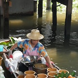 Talin Chan Floating Market