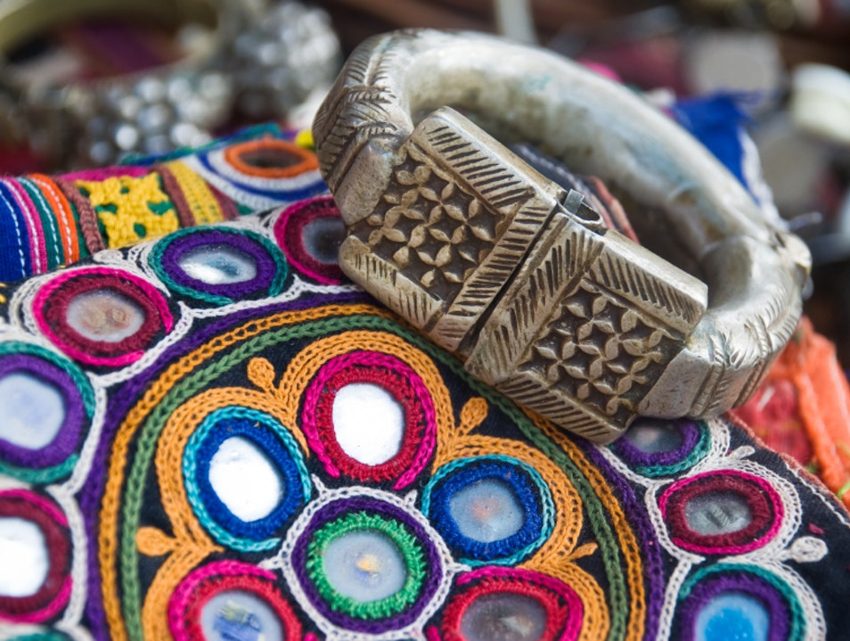 Browse the Wares at Dilli Haat