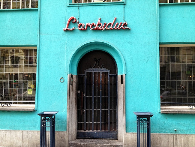 Brussels Art Deco Live Jazz Bar