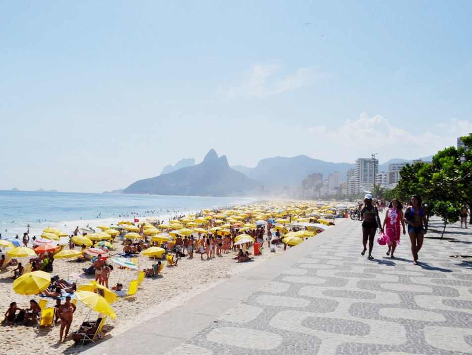 What to pack for a day at the beach Rio De Janeiro  Brazil
