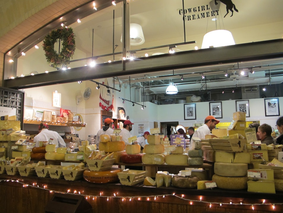 Artisanal Cheeses at Cowgirl Creamery San Francisco California United States