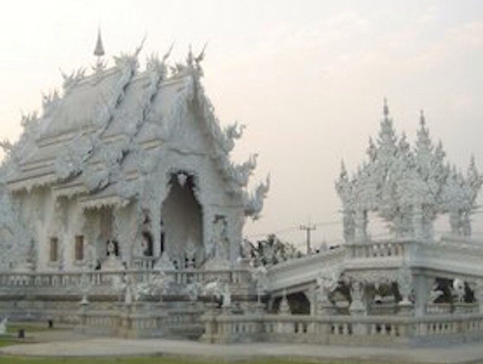 Buddhist Ice Castle Pa O Don Chai  Thailand