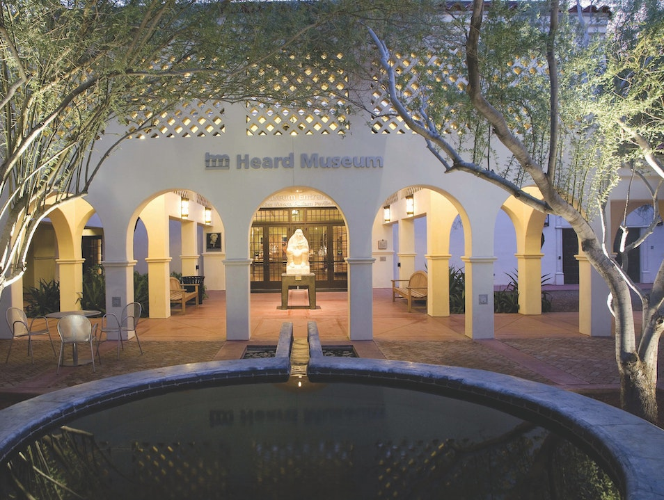 Native American Fashion at the Heard Museum Phoenix Arizona United States