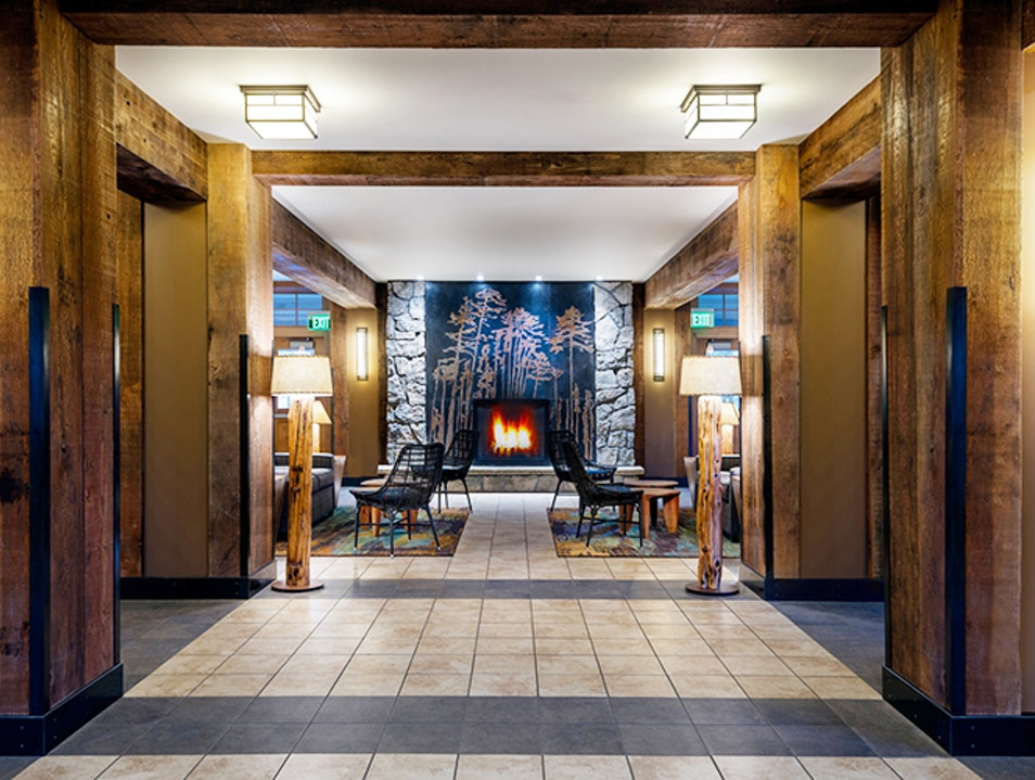 Canyon Lodge Yellowstone National Park Wyoming United States