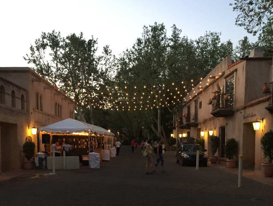 """Palet"" at Tlaquepaque Arts & Crafts Village in collaboration with Sedona Arts Center"