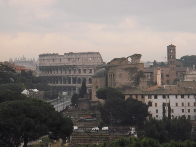 Looking at Colosseum