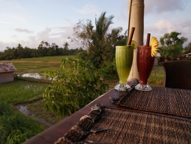 Sunset Dining at Sari Organik