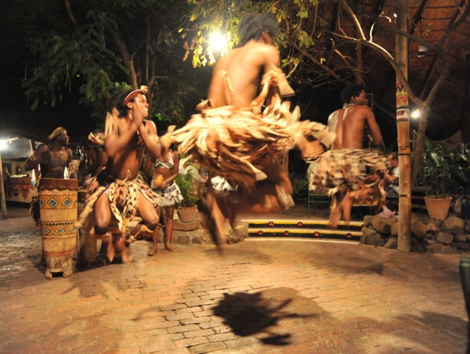 Dining and Dancing at The Boma