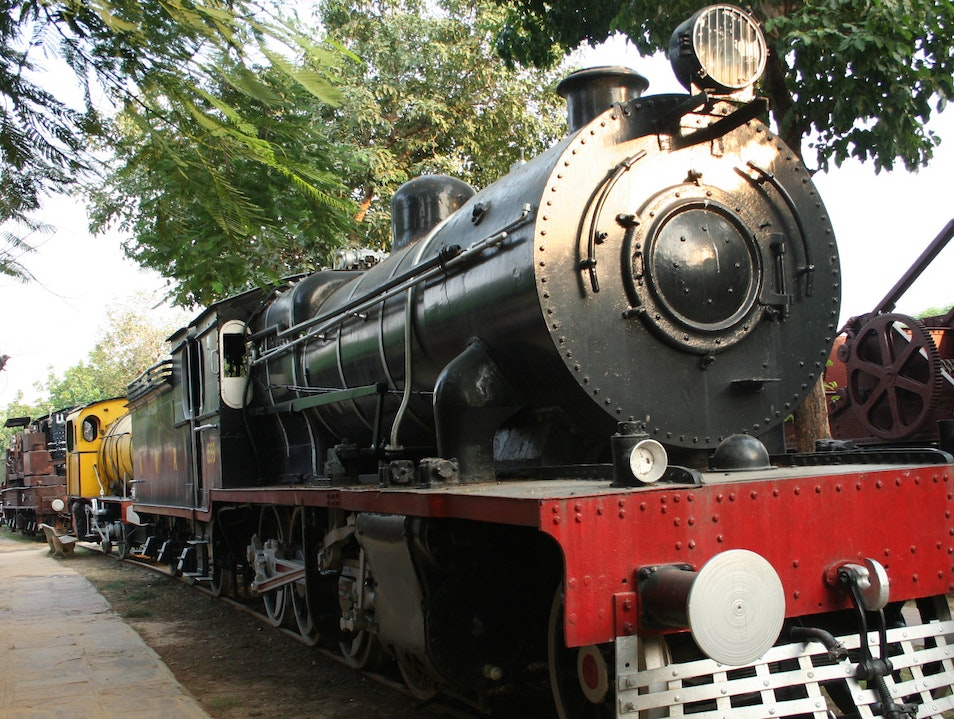 All Aboard the National Rail Museum! New Delhi  India
