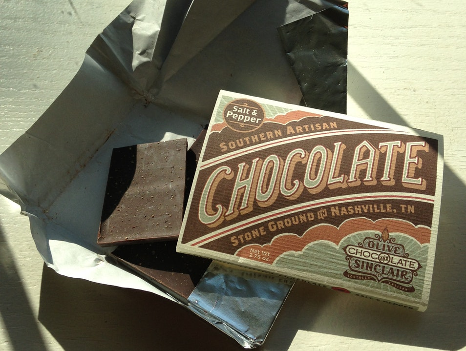 Southern Artisan Chocolate from Olive & Sinclair Nashville Tennessee United States