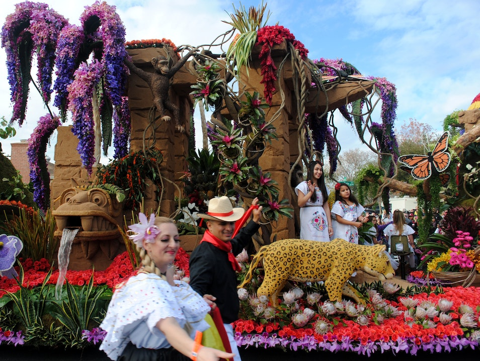 Must See: Pasadena's Rose Parade Pasadena California United States