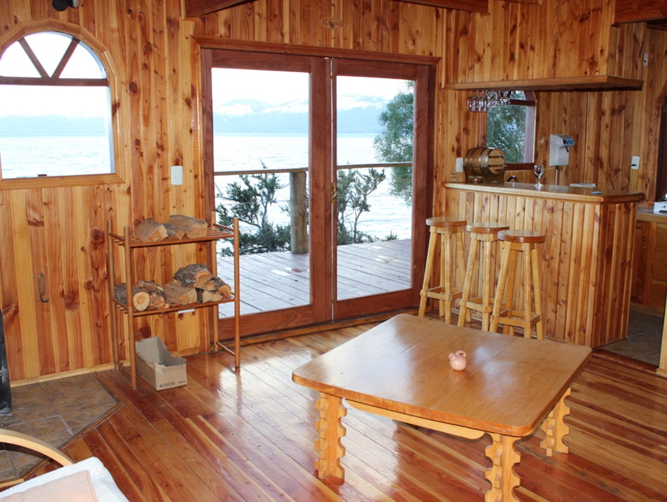 Stay Lakeside at The Terra Luna Lodge Chile Chico  Chile
