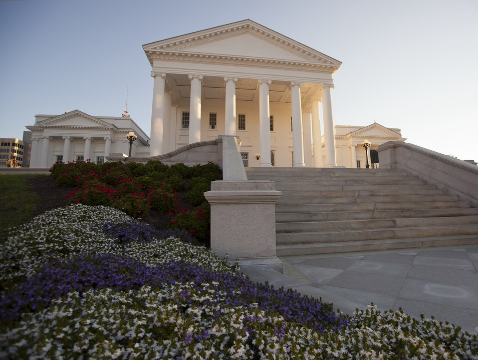 Tour the Capitol Designed by Jefferson Richmond Virginia United States