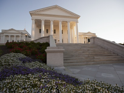 The Virginia State Capitol Richmond Virginia United States