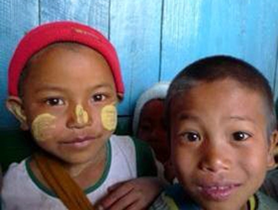 Tattoo Face Indigenous People Of Myanmar Mindat  Myanmar