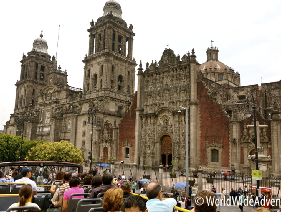 Stunning Cathedral in Mexico City